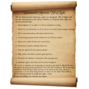 Undocumented Americans' Bill ofRights